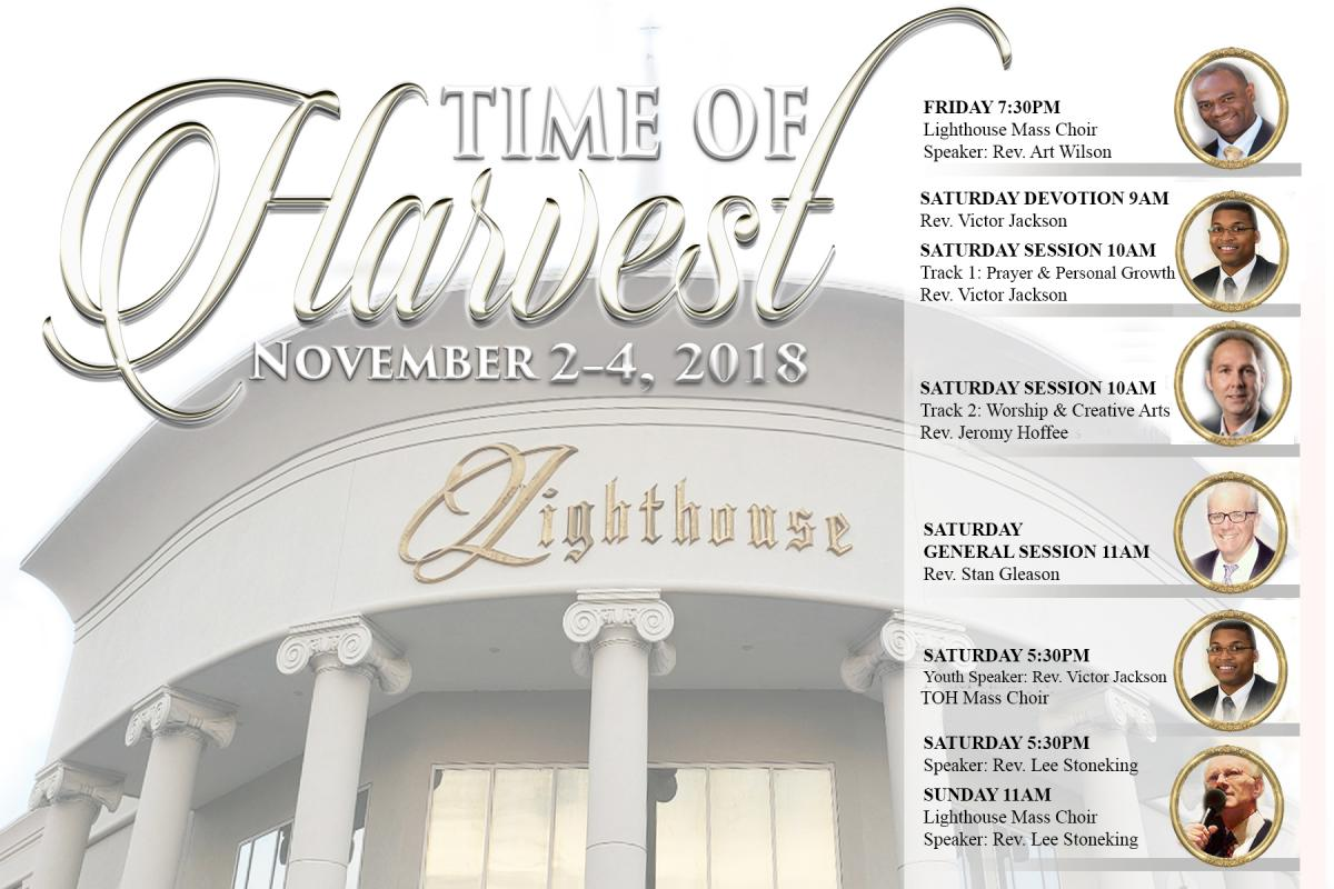TIME OF HARVEST CONFERENCE – Lighthouse