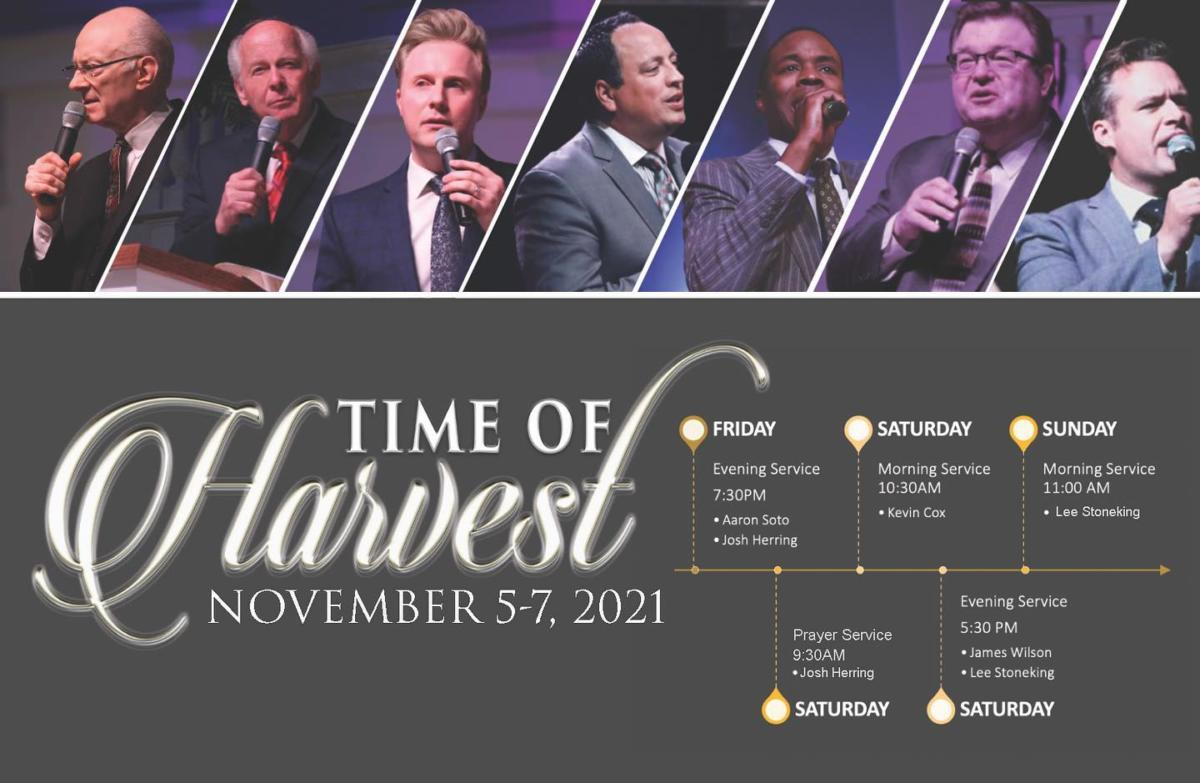 TIME OF HARVEST2021